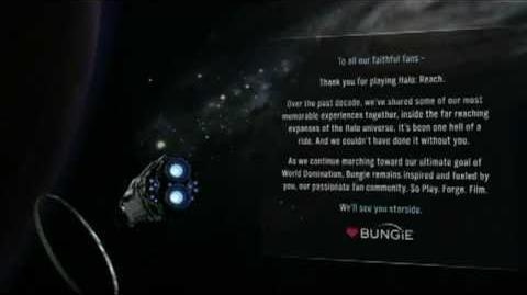 Halo Reach Walkthrough - Part 27 - Credits