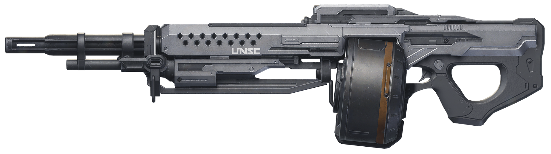 machine gun halo