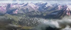 HTFoR Animated Series - Elysium City