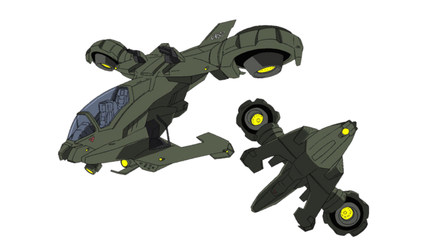 File:Halo Legends: Homecoming Hornet Concept.png