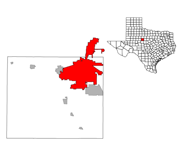 File:Location Of Abilene Texas.png