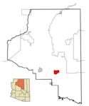 Flagstaff Coconino County AZ Location