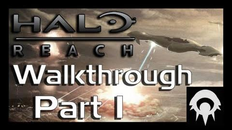 Halo- Reach Walkthrough - Part 1 - Noble Actual - No Commentary