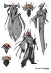 Halo 4 Promethean Concept Art 2