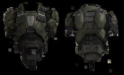 Body armor frontback