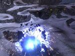 Scarab explodes