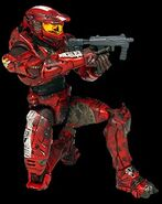 X spartan red bd