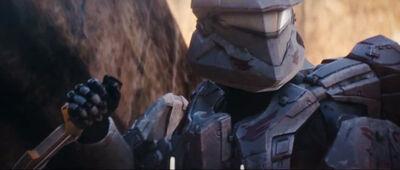 Halo 4 Spartan Ops Palmer Knife