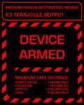MFDD armed screen