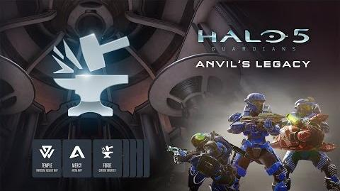 Halo 5 Forge Anvil's Legacy Trailer