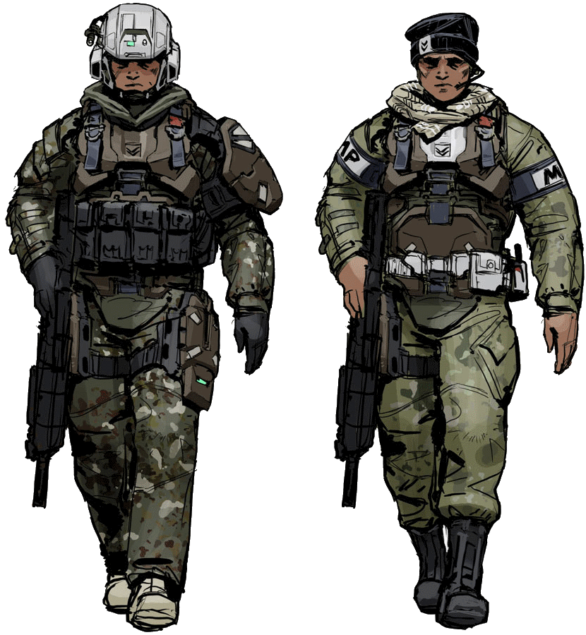 UNSC Army Battle Dress Uniform | Halo Nation | FANDOM ... - photo#37