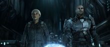 Anders and Forge in the Relic