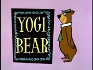 Yogi Bear Title Card