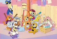 Top Cat and Gang
