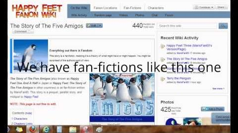 Happy Feet Fanon Wiki Ad