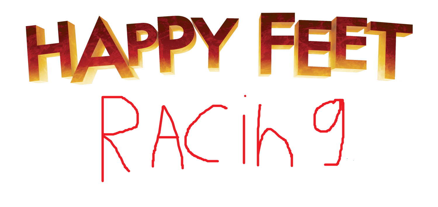 Image - Happy Feet Racing 2nd Logo.png | Happy Feet Fanon Wiki ...
