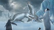 Happy Feet Two Video Game - Leopard Seals dancing, Mumble, Ramon and Erik cutscene