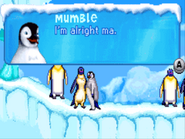 Adult Mumble in Happy Feet GBA Game