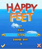 Happy Feet Mobile Game Menu