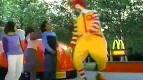 McDonald's Ad- Treasure Planet (2002)