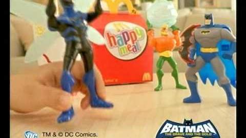 麥當勞 開心樂園餐 - 蝙蝠俠 & Sugarbunnies 玩具