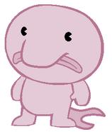 blobfish swimming gif