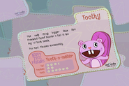 Toothy's Collect Them All Card