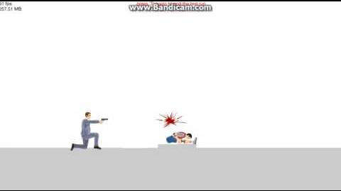 Happy Wheels - Shot to the back of the head