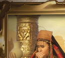 Portrait of wailing Egyptians