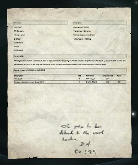 Image Finboks delivery slippng Harry Potter Wiki – Delivery Slip
