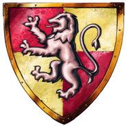 Gryffindor Logo from Harry Potter Lego