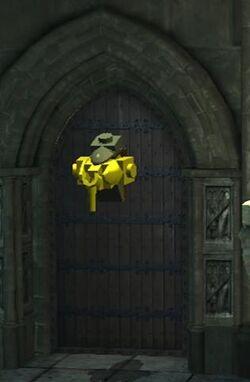 Ravenclaw door knocker
