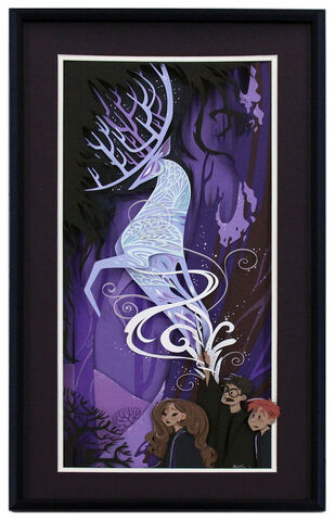 File:Size500 harrypotter brittneylee expectopatronum1 40 Beautiful Harry Potter Art and Illustration Tributes.jpeg