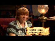 Rupert Grint (Ron Weasley) GoF screenshot