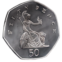 Fifty-pence-piece