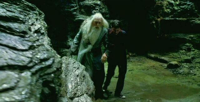 File:Prof. Dumbledore and Harry leaving the Cave.JPG