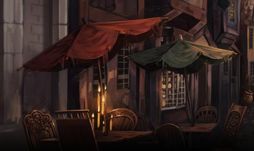 File:Diagon Alley cafés.jpg
