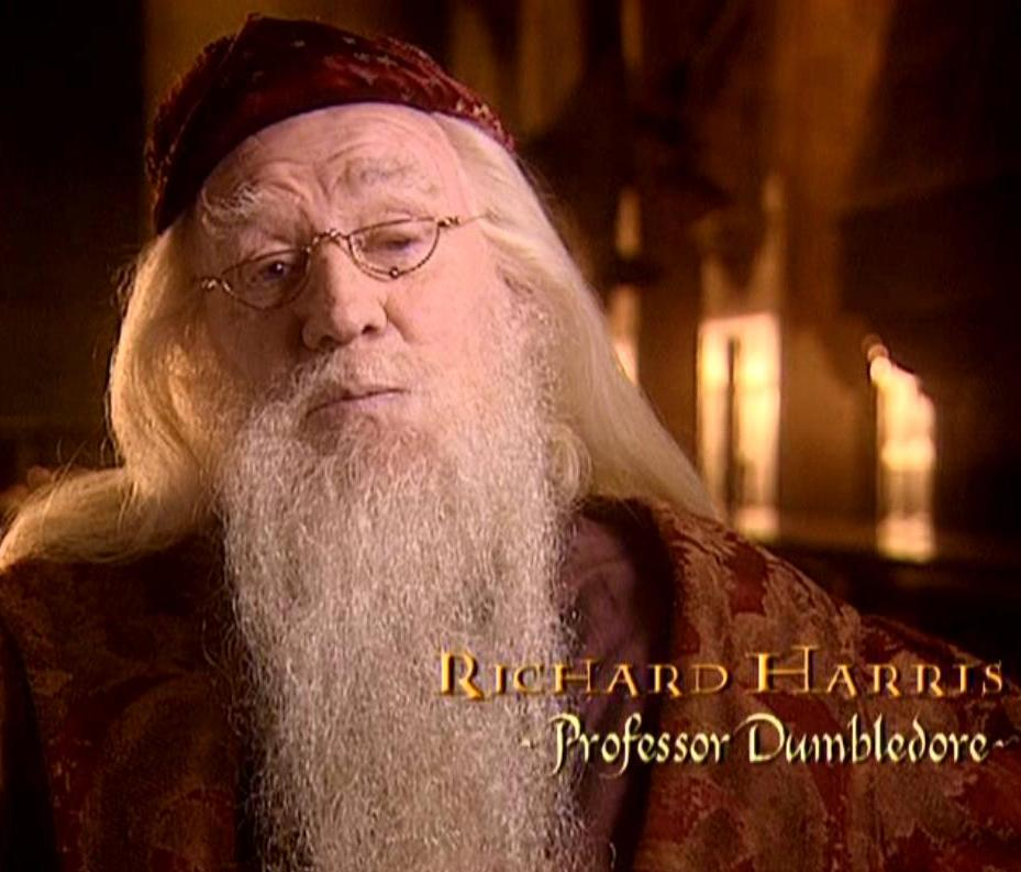 Image richard harris professor dumbledore cos for Dumbledore s first wand