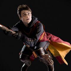 Гарри Поттер в мужской форме Сборной