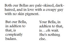 Bella VS. Bella