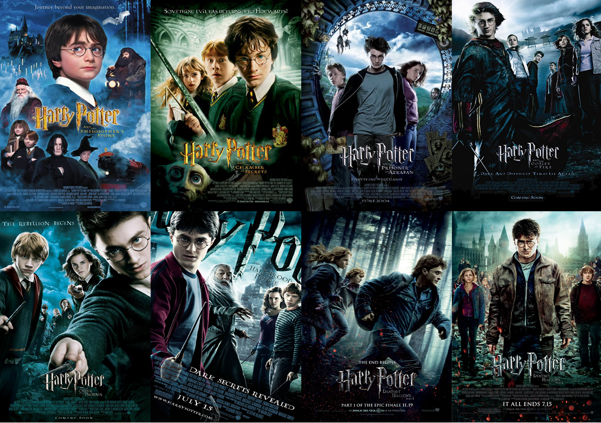 Image result for harry potter franchise