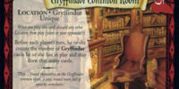 Gryffindor Common Room (Trading Card)