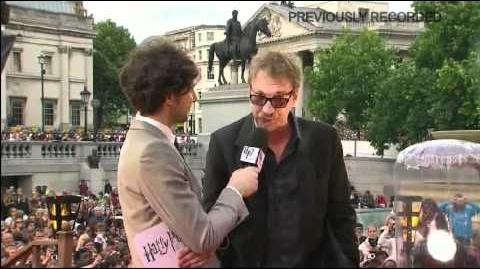 David Thewlis & Alan Rickman @ DH Part 2 Premiere (Snape Chant)