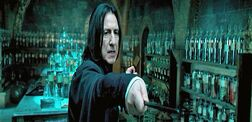 Snape teaching Occulemency