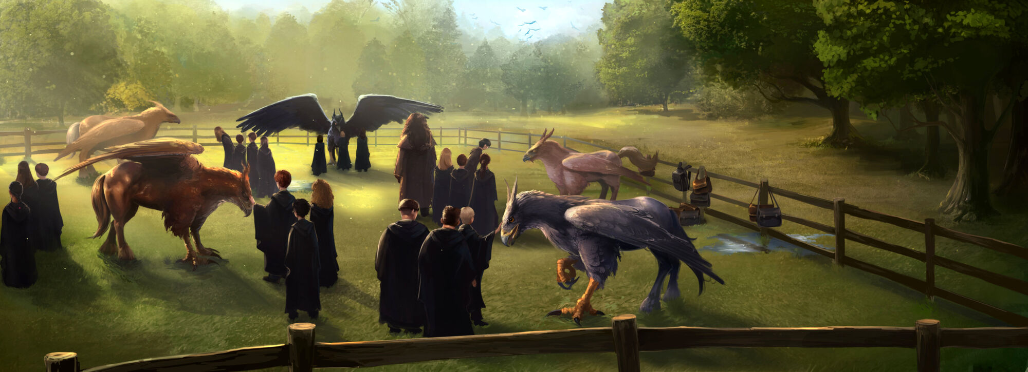 Care Of Magical Creatures Harry Potter Wiki Fandom