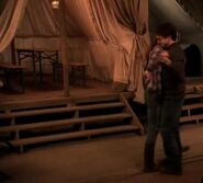 Harry and Hermione dancing inside the tent 03