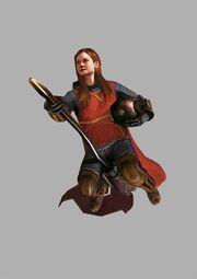 Ginny Weasley artwork hbpvideogame