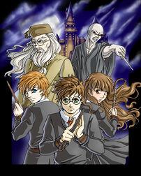 Harry Potter Anime Style