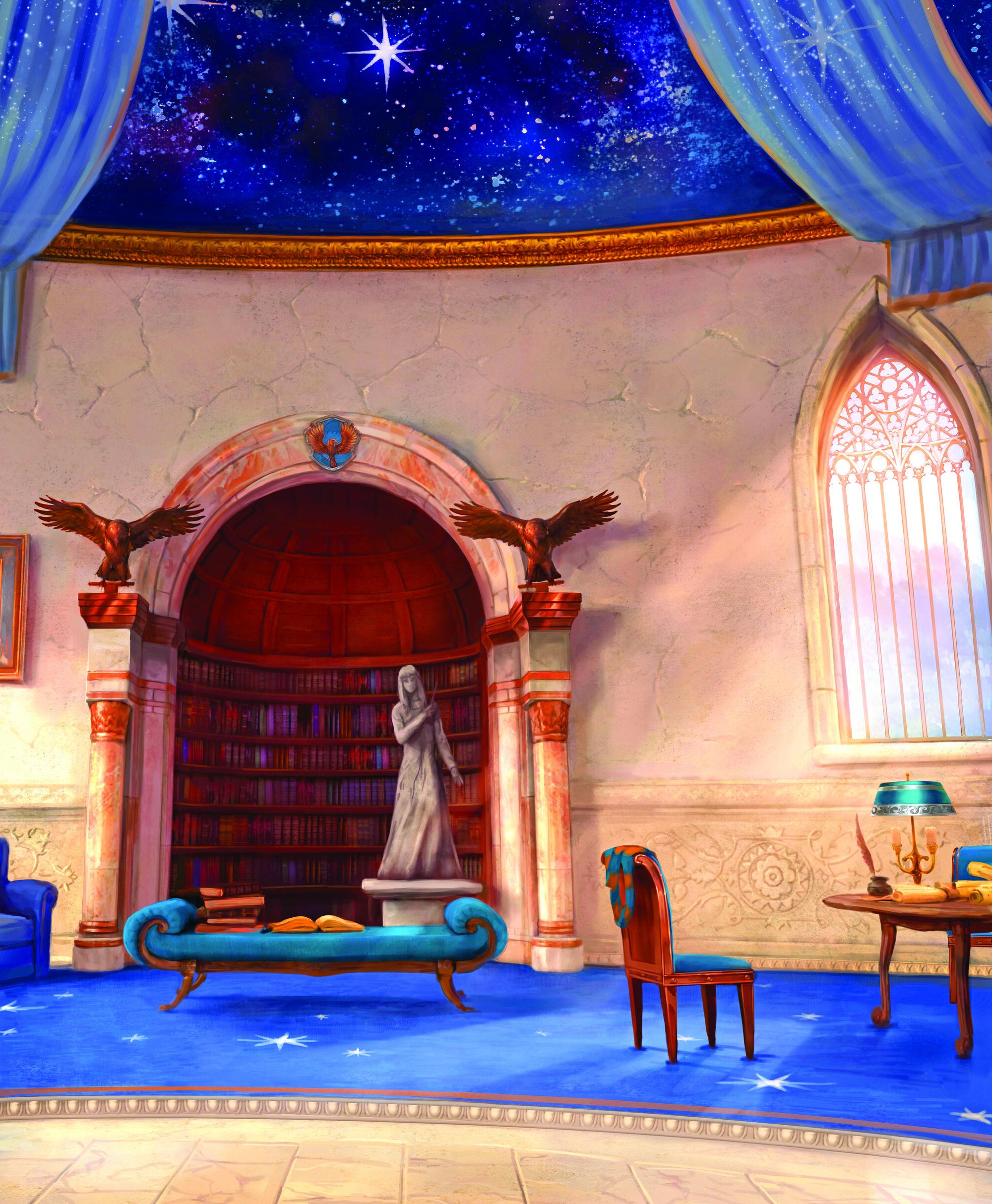 Image - Ravenclaw common room.jpg   Harry Potter Wiki ...