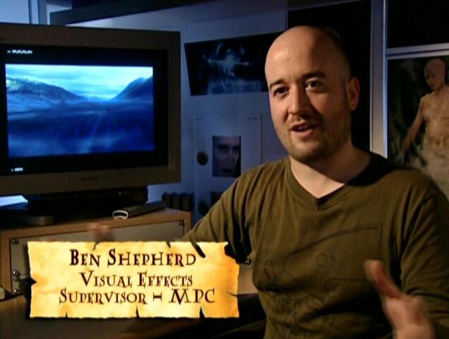 File:Ben Shepherd (HP4 Visual Effects Supervisor - MPC) discussing The Maze.JPG